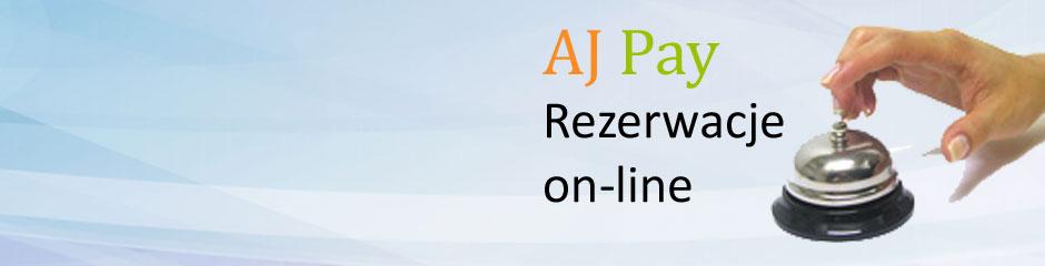 AJ Pay – rezerwacje i płatności on-line
