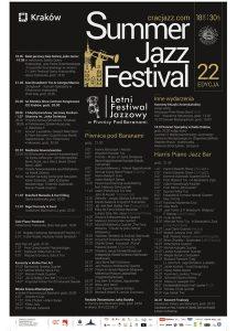 22. Letni Festiwal Jazzowy program