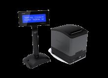 Terminal fiskalny Posnet Thermal HD z wyświetlaczem wolnostojącym w wersji przedłużonej